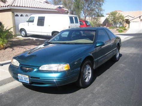how to learn about cars 1996 ford thunderbird electronic toll collection sell used 1996 ford thunderbird lx in henderson nevada united states for us 3 600 00