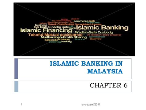 Mba Islamic Banking And Finance Malaysia by Chpter 6 Islamic Banking 1