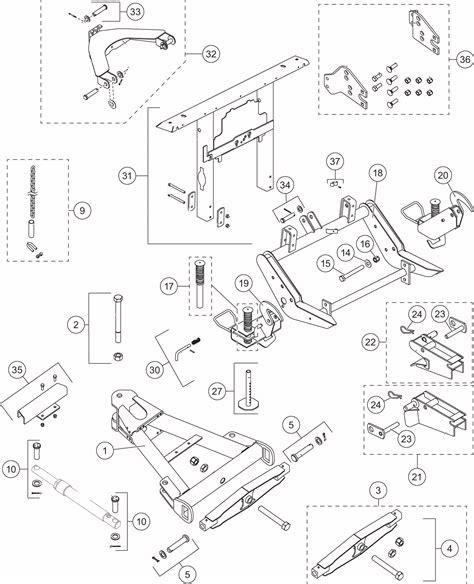 Western Ultra Mount Plow Parts Diagram