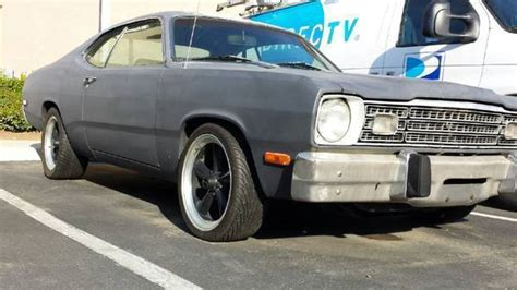 1973 black plymouth duster for sale photos technical