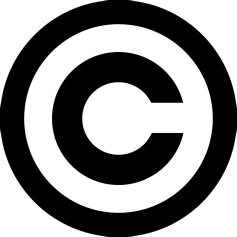 copyright symbol intellectual  vector graphic  pixabay