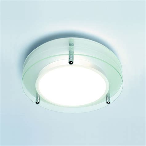 bathroom light fixtures uk astro lighting strata 0203 glass bathroom ceiling light