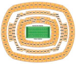 new york giants interactive seating chart download