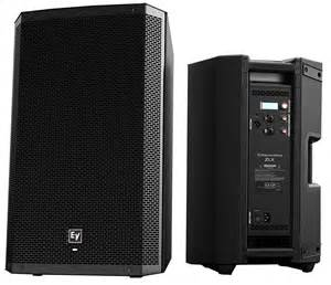 Ev Ev Zlx 12p 12 Inch Two Way 1000 Watt Powered Loudspeaker