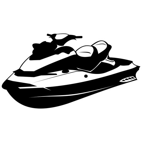 water scooter license vector for free use water scooter vector