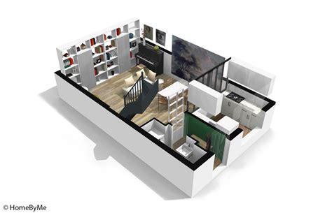 Chambre 8m2 Aménagée by Plan Maison 3 Chambres 3d