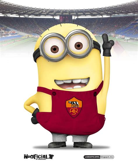 imagenes minions chivas minion as roma jpg 1 023 215 1 225 pixels sports pinterest