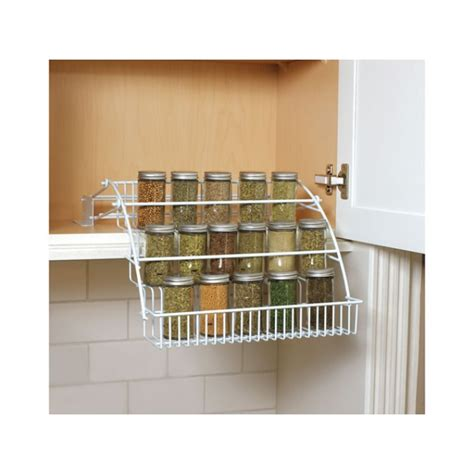 Kitchen Seasoning Rack Geekshive Rubbermaid Pull Spice Rack Black Spice