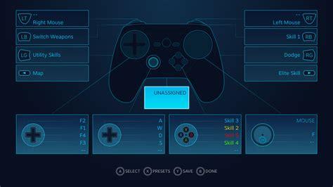 el arte de mapear los botones de tu mando