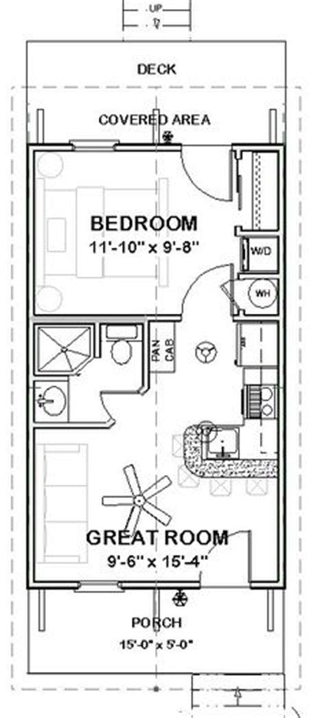 guest cottage floor plans 14x28 tiny house 14x28h3a 391 sq ft excellent
