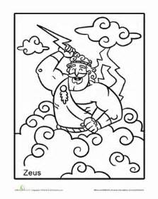 kratos and zeus coloring pages coloring pages