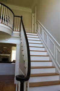 Black Balusters Option 2 White Painted Balusters Black Painted Newel