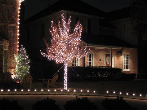 Ribbon Lights Outdoor Stunning Tree Wrap Lights Outdoor Led Ribbon Trunk Around Chritsmas Decor