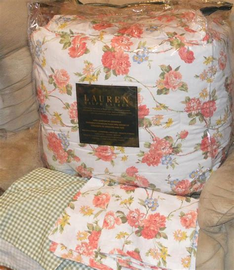 ralph lauren bedding ebay ralph floral king or comforter set new 1st quality ebay