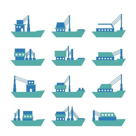 tugboat vector tugboat or trawler vector download free vector art