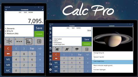 install windows 10 calculator calc pro hd calculator free windows phone app market