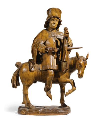 martin of tours statuette sotheby s
