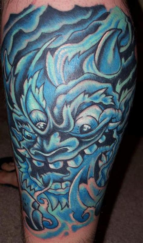 water demon tattoos blue design pictures fashion gallery