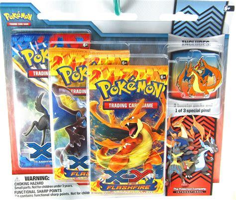 Figure Xy Flashfire xy flashfire trading card booster pack pin