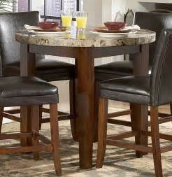 Marble Top Kitchen Tables Homelegance Achillea Counter Height Dining Table Marble Top 721m 36rd