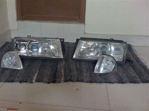 change headlight bulb skoda octavia diy skoda rs light replacement and hid upgrade team bhp