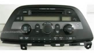 Radio Code For Honda Odyssey 2005 Honda Odyssey 2005 2007 Cd6 Xm Radio A400 1bu1 Reman