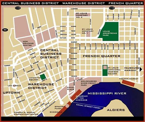 printable french quarter new orleans maps discover new orleans ultimate destinations hotels