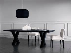 Black Dining Room Tables elegant black dining table andrea by casamilano digsdigs