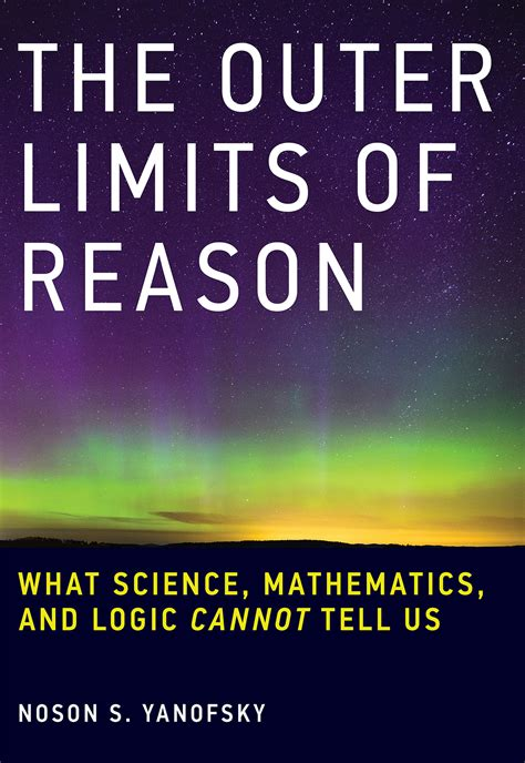 limits books the outer limits of reason the mit press