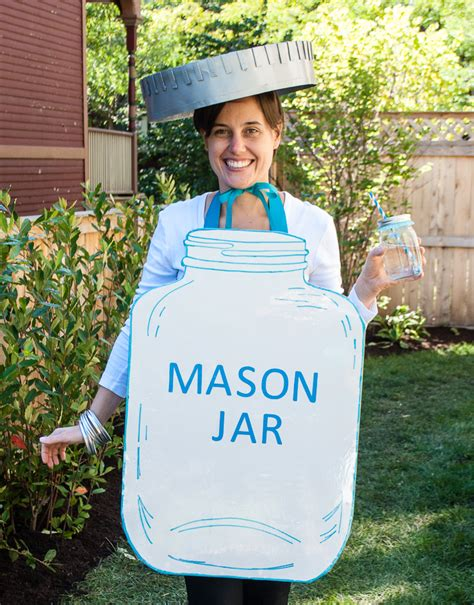 comfortable halloween costumes for adults mason jar halloween costume easy diy halloween costume