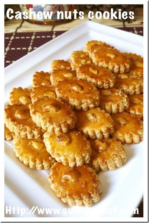 new year sugee cookies recipe new year recipes cashew sugee cookies 腰豆苏吉饼