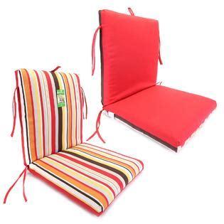 Kmart Patio Chair Cushions Essential Garden Natalie Clean Look Chair Cushion Outdoor Living Patio Furniture