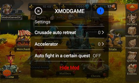 xmodgame comcom tutorial heroes charge 1 5 1 xmodgame android and