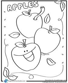 preschool apple coloring pages pics photos apples preschool coloring pages
