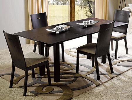 mesas de comedor para espacios reducidos