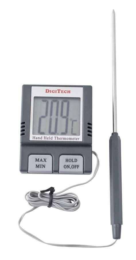 Termometer Laser Digital termometer digital mini m ledning