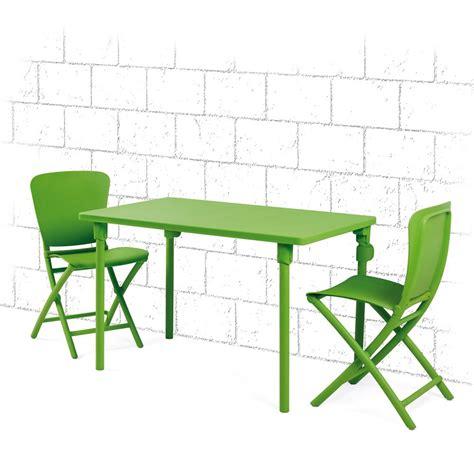 tavolo da giardino pieghevole tavolo e sedie pieghevoli da giardino e terrazzo zic zac