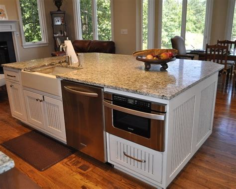 kitchen island with microwave drawer sharp microwave drawer next to kitchenaid dishwasher kitchen favorites drawers