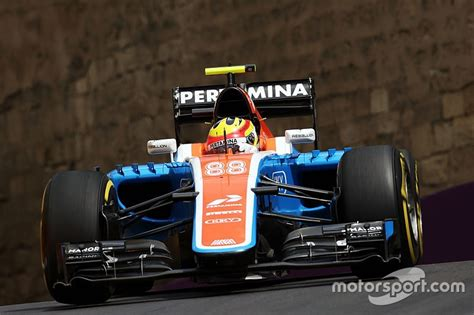 Kaos Haryanto Manor Racing baku points quot possible quot for manor in a crash heavy race