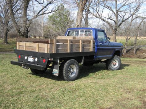 truck flat bed flatbed for pickup yesterday s tractors
