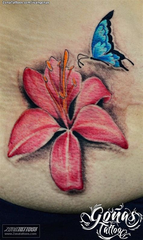 fuschia tattoo designs pink butterfly design 187 ideas
