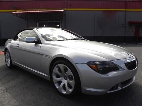 Bmw 6 Series Convertible Interior by 2006 Bmw 650i 6 Series Convertible Quot Burgundy