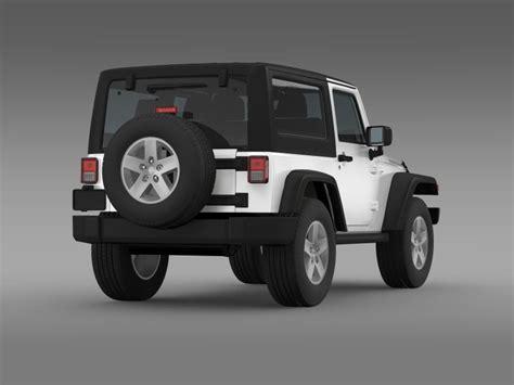 2007 jeep wrangler models jeep wrangler rubicon 2007 3d model vehicles 3d models