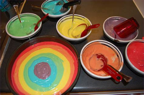Doh Rainbow Multi Colour by Mixed Multi Coloured Cake Ideas And Designs