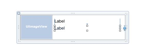 uilabel layout manager using autolayout in a tableview cell that should proper