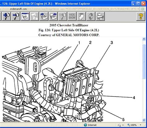 2004 chevy trailblazer cooling fan diagram catalog auto