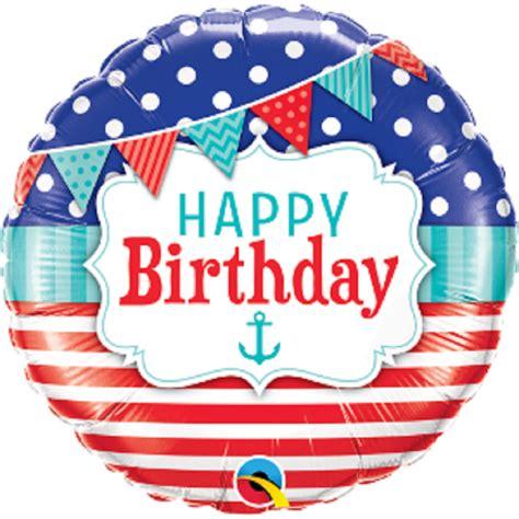 Balon Foil Polos 18 Inch balon folie 45 cm happy birthday qualatex 49178 radar center