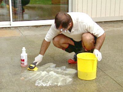 Homemade Concrete Cleaner & Degreaser   Stains, Homemade