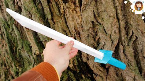 How Do You Make A Paper Sword - how to make a paper sword japanese samurai sword 123vid