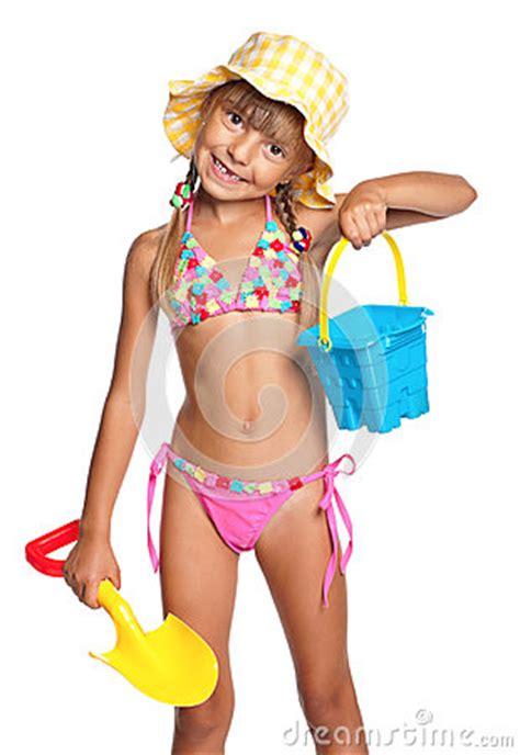 little women usborne young meisje in zwempak stock afbeeldingen afbeelding 26584864